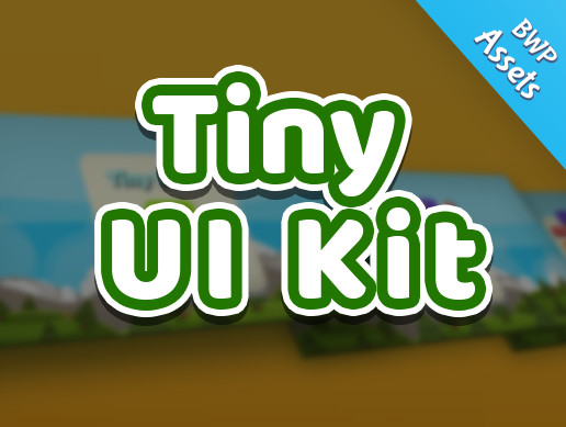 Tiny UI Kit / Unity Asset