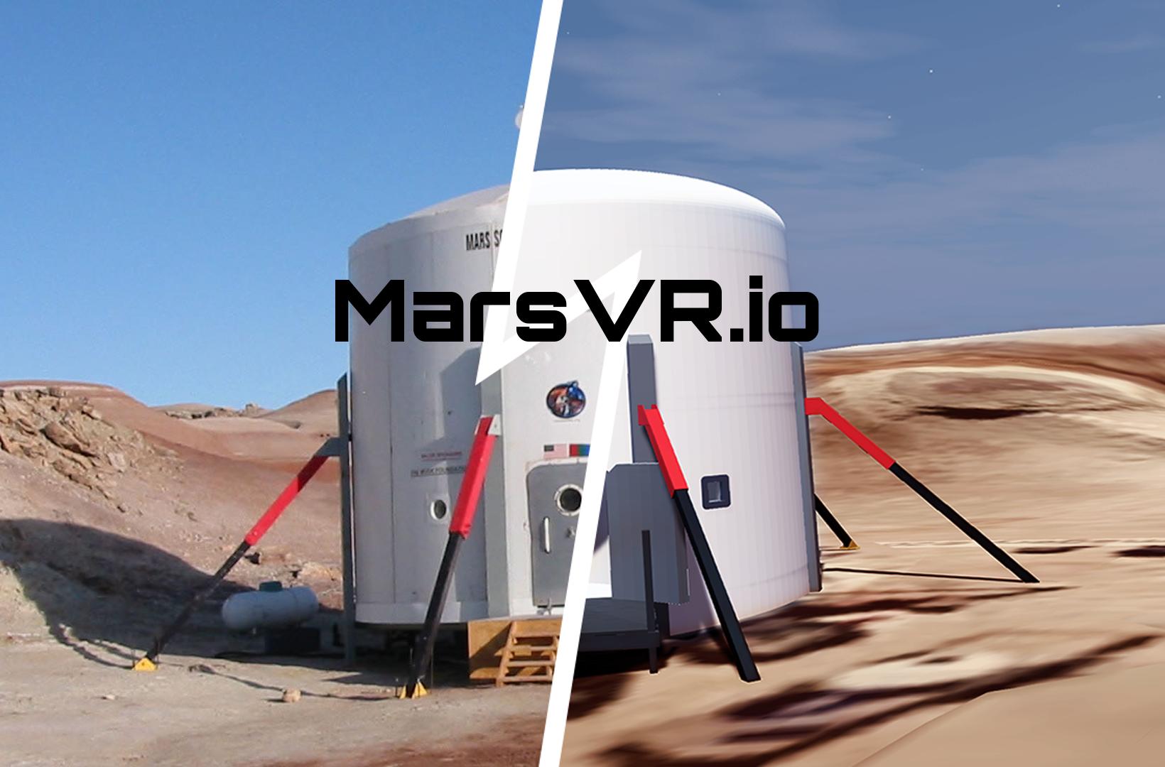 MarsVR - Exploring Mars Using Virtual Reality