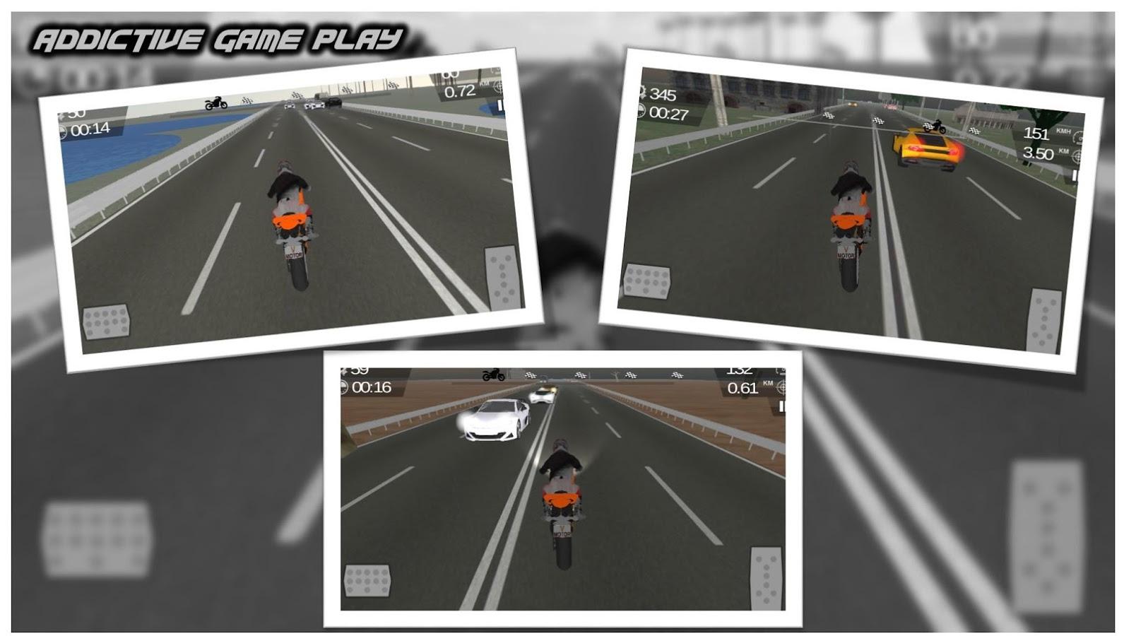 Moto Traffic Highway Rider 3D