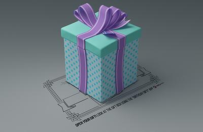 Birthday Gift (Augmented Reality)