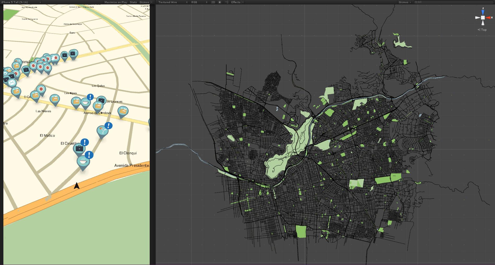 Realdata Map Generator Test