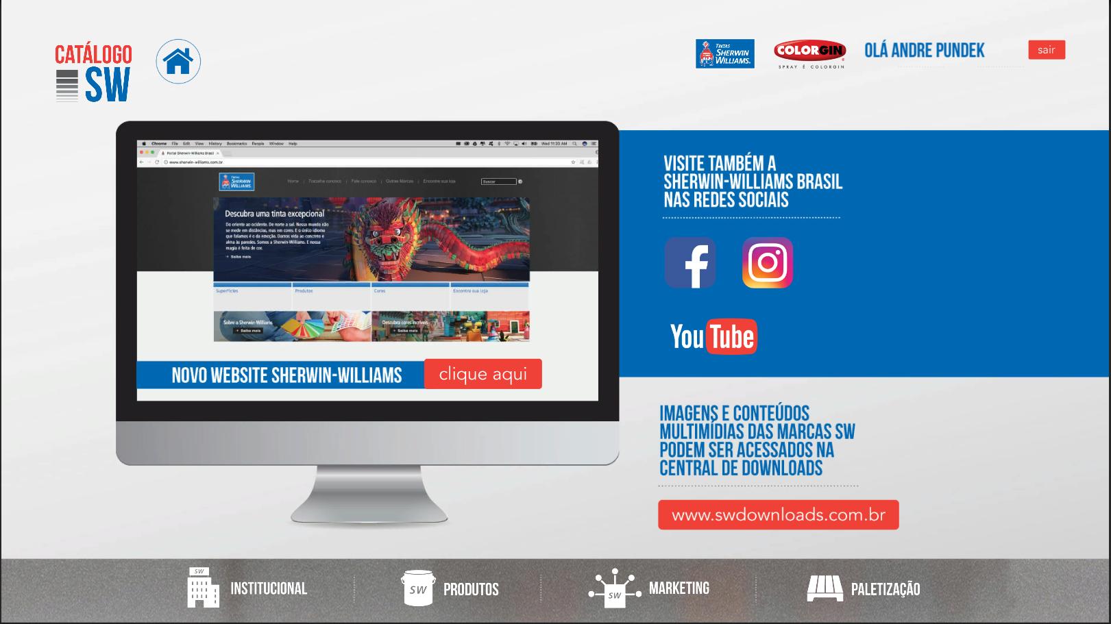 Catálogo Digital Sherwin Willians Brasil