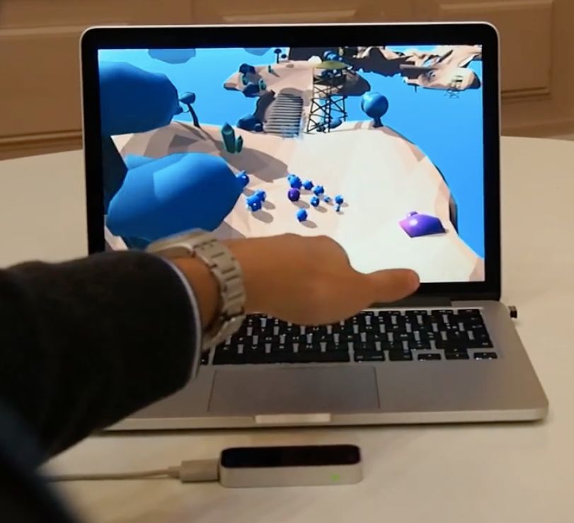 Gizmo - Leap motion