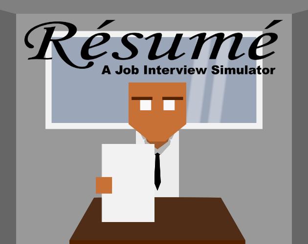 Résumé: A Job Interview Simulator