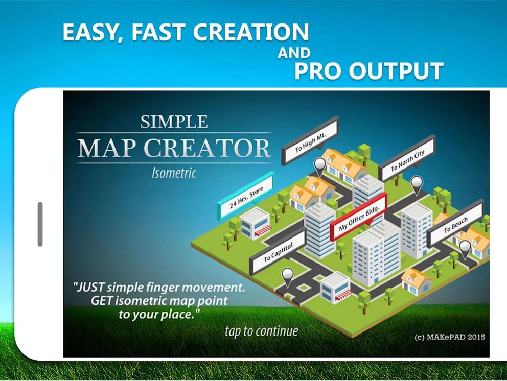 Simple Map Creator Isometric