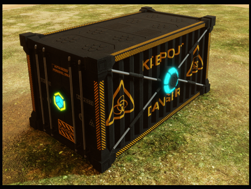 Sci-Fi Shipping Container