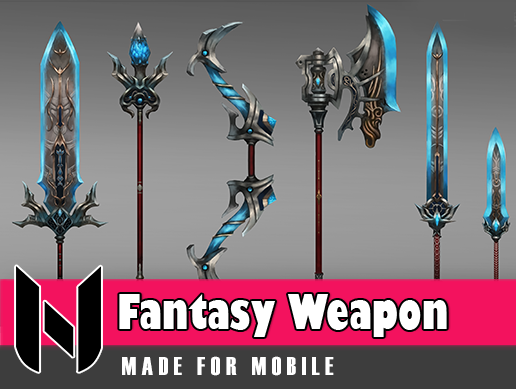 Fantasy Weapon Set 3