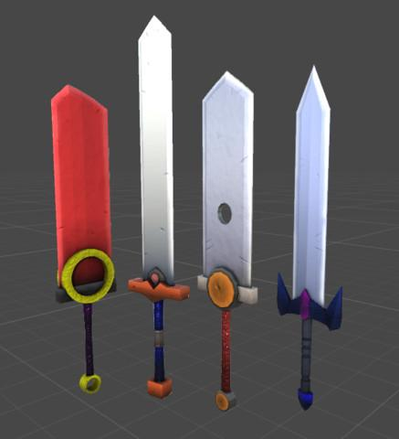 Fantasy/SciFi Swords