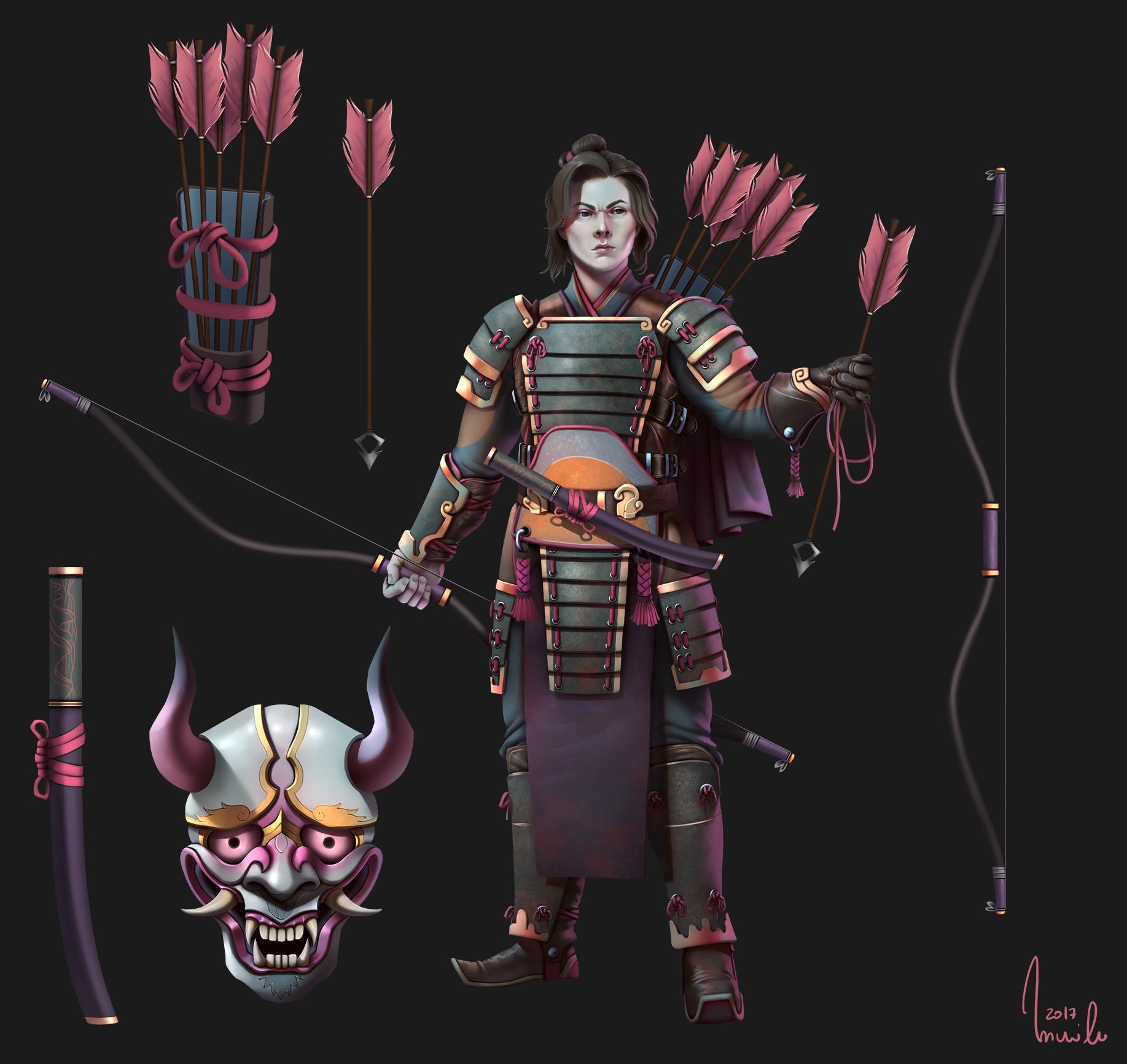 Samurais Concept Art