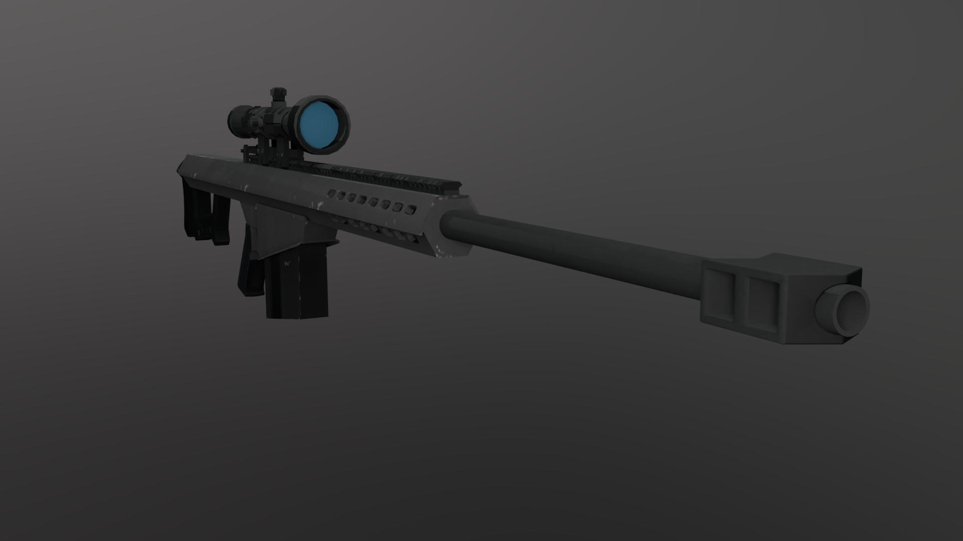 Barett M82A1 model