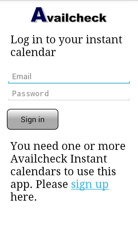 Availcheck