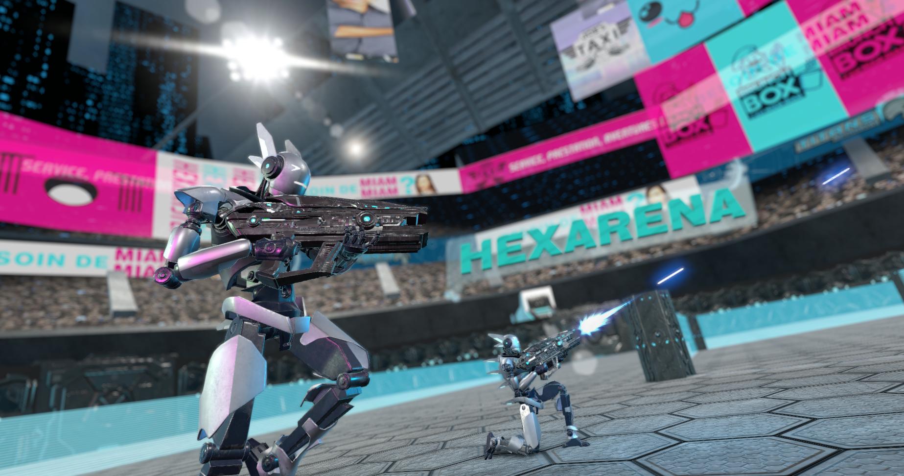 Hexarena VR (2016)