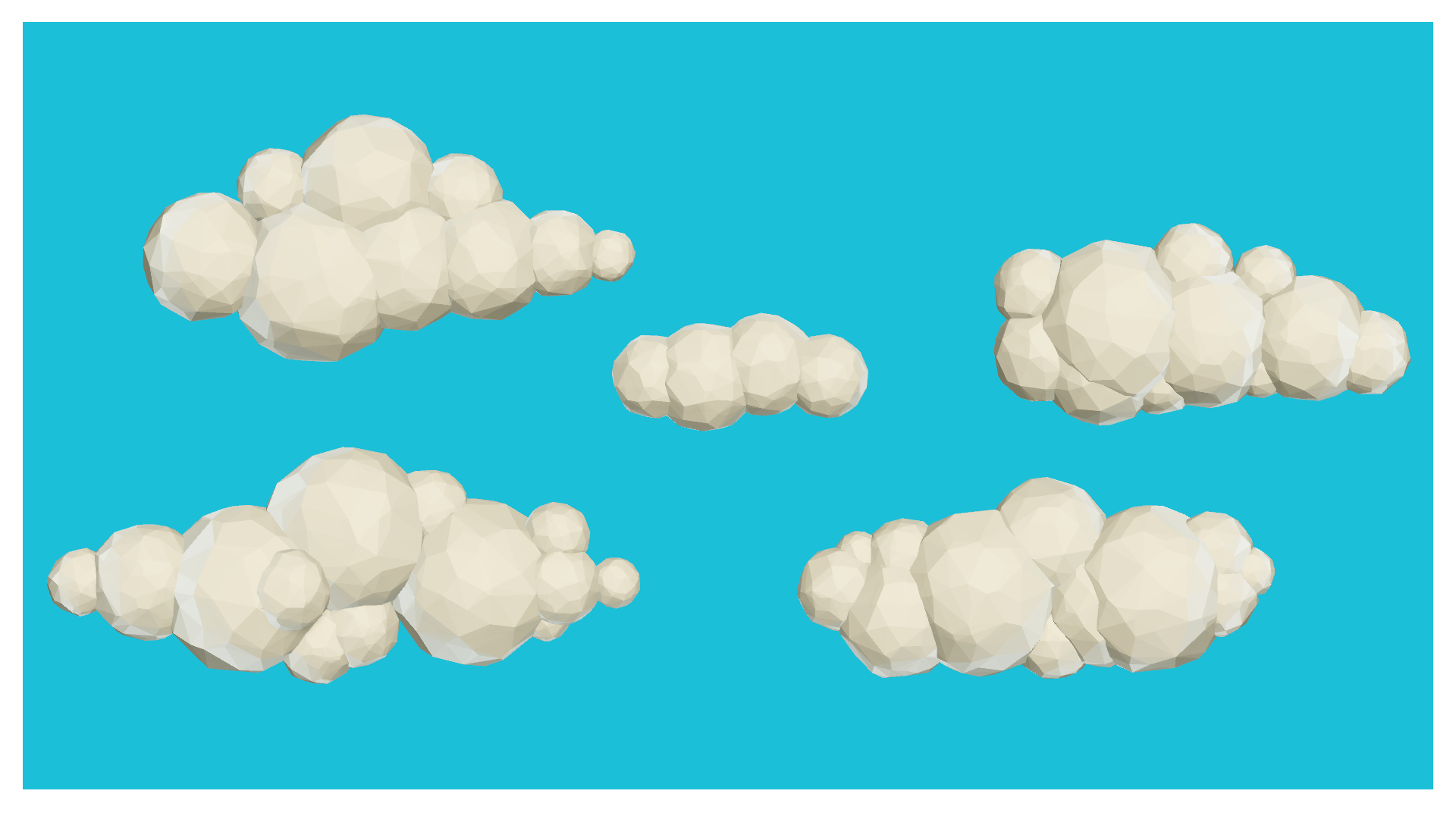 Low Poly Cloud Generator