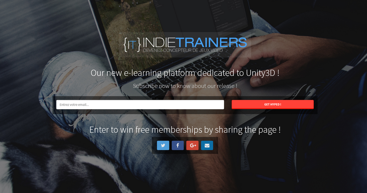 IndieTrainers e-learning platform