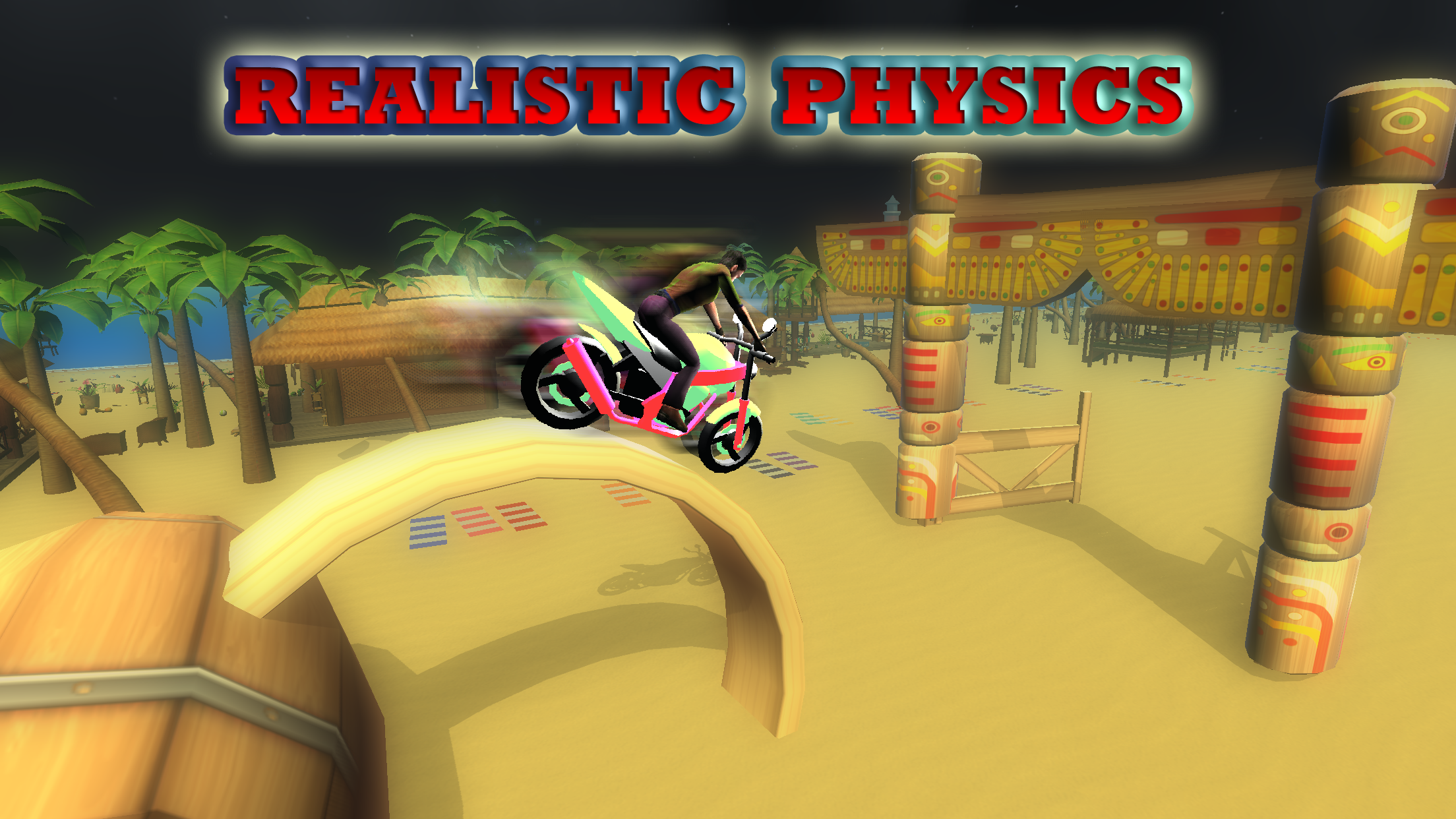 3D Stunt Bike Game
