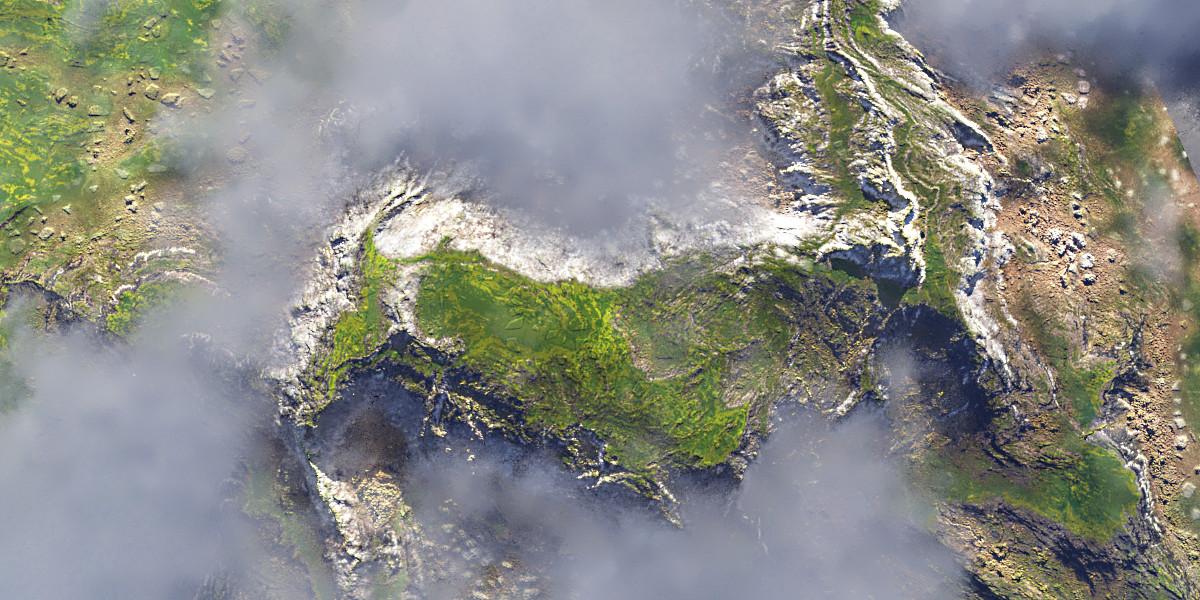 Cinematic Highland Landscape