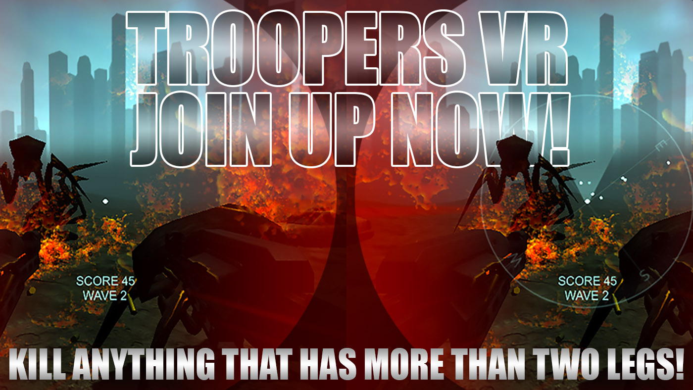Troopers VR - Join Up Now!