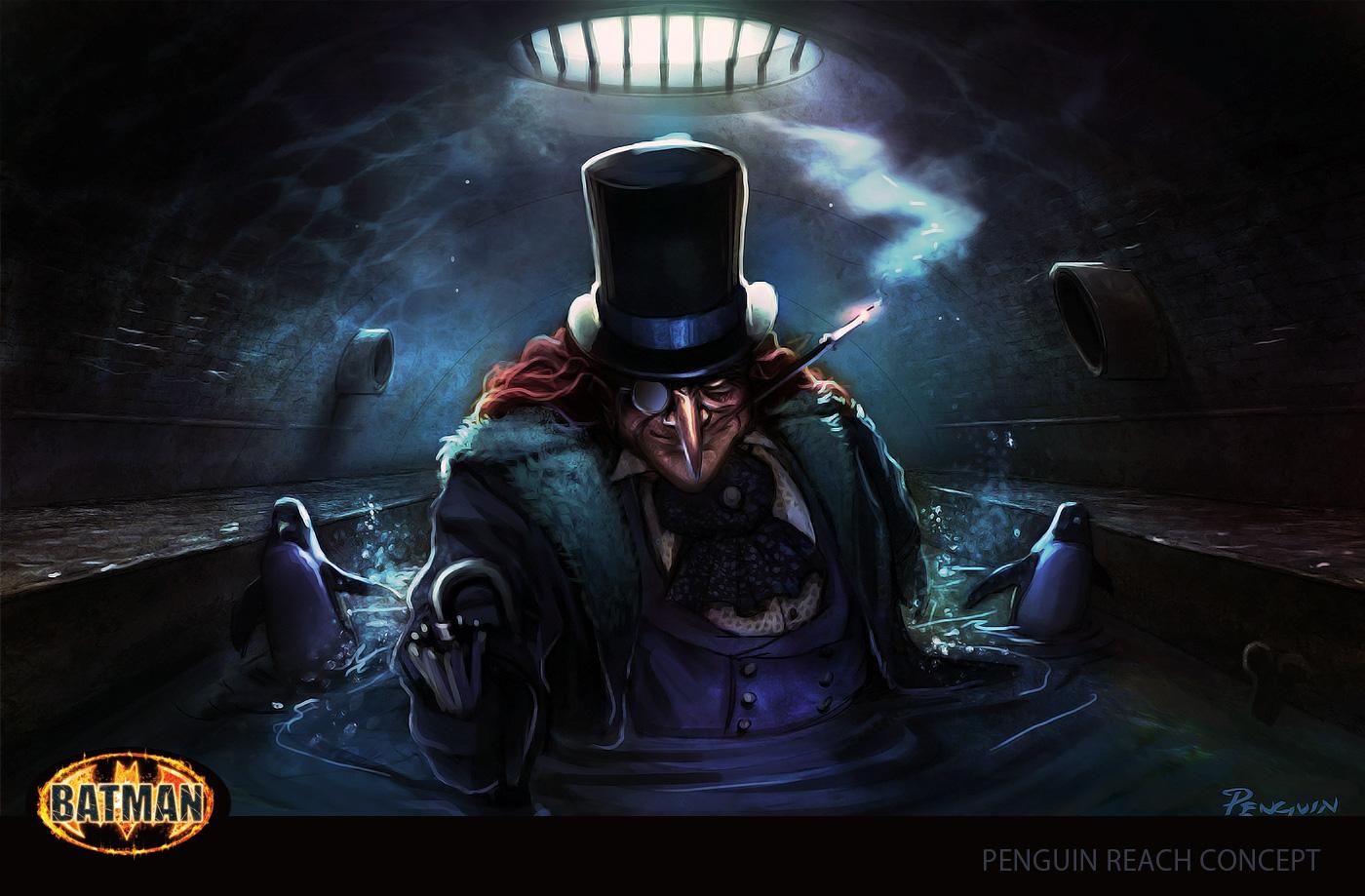 Batman Character Illustration