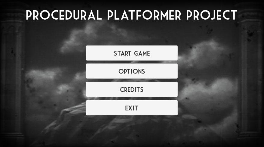Procedural Platformer Project