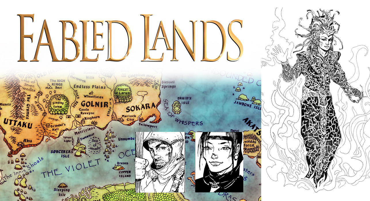 Fabled Lands Games