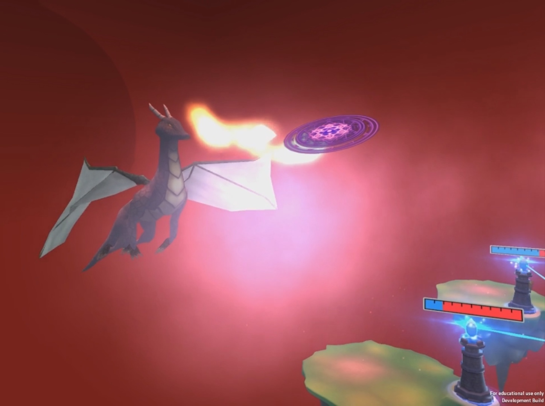 VR RTS: Dragonfall