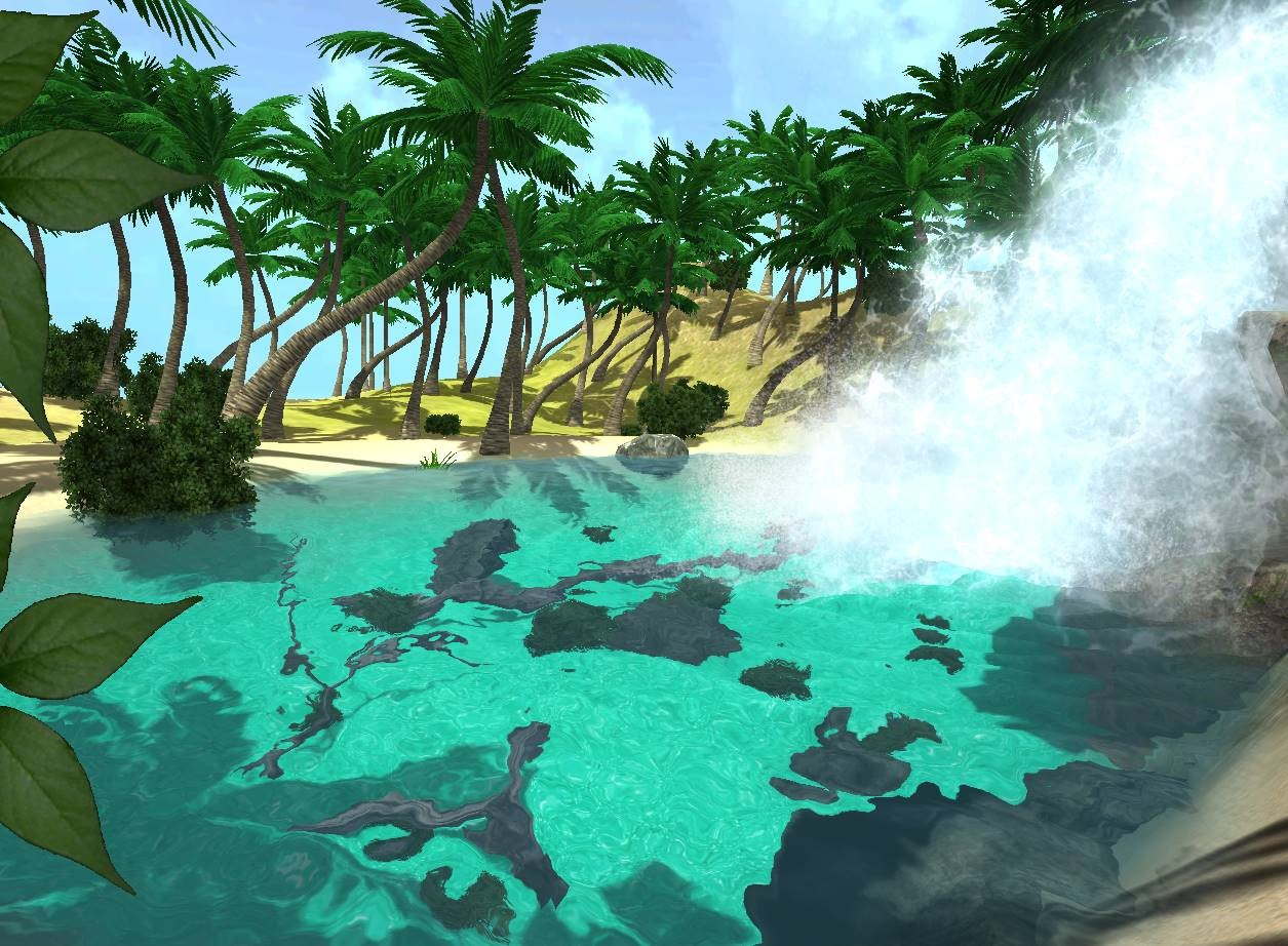 Visualization of interactive water in Unity