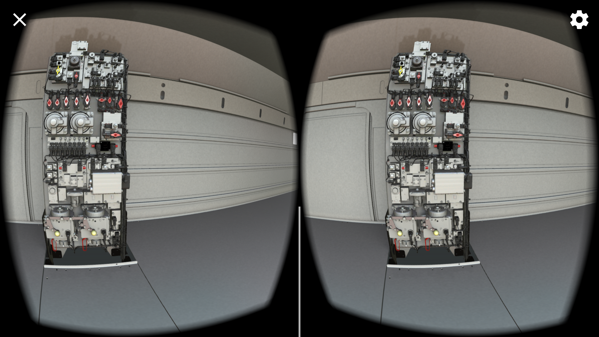 VR 3D Stereoscopic Interactive Lessons.