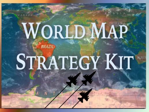 World Map Strategy Kit