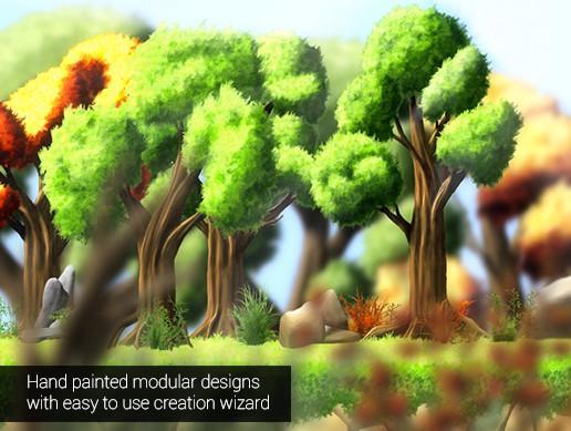 2D Forest Designer