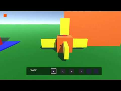 Voxel first person creator