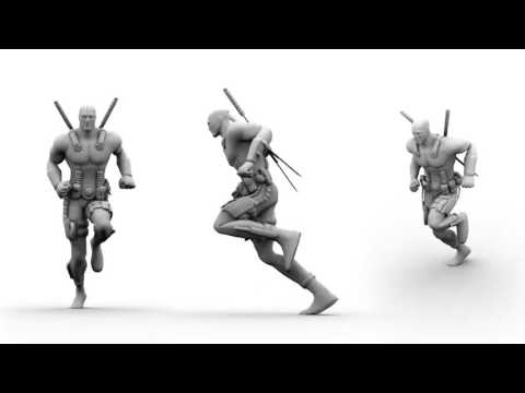 3D Animation Game Reel 2017