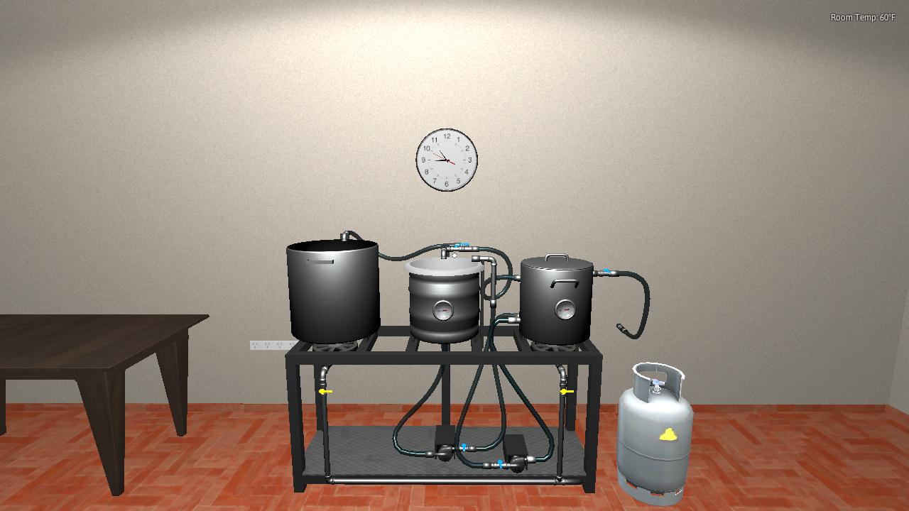 Homebrewing Simulator