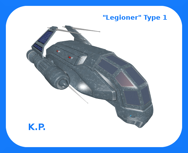"Space Ship ""Legioner"", Type 1"