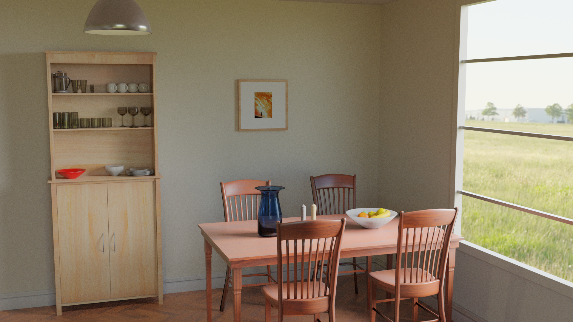 Realistic Dining Room