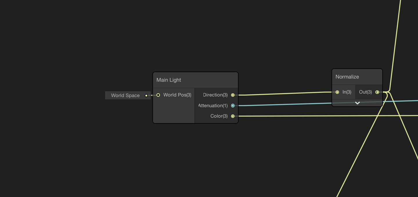 Getting light information with a custom node in ShaderGraph