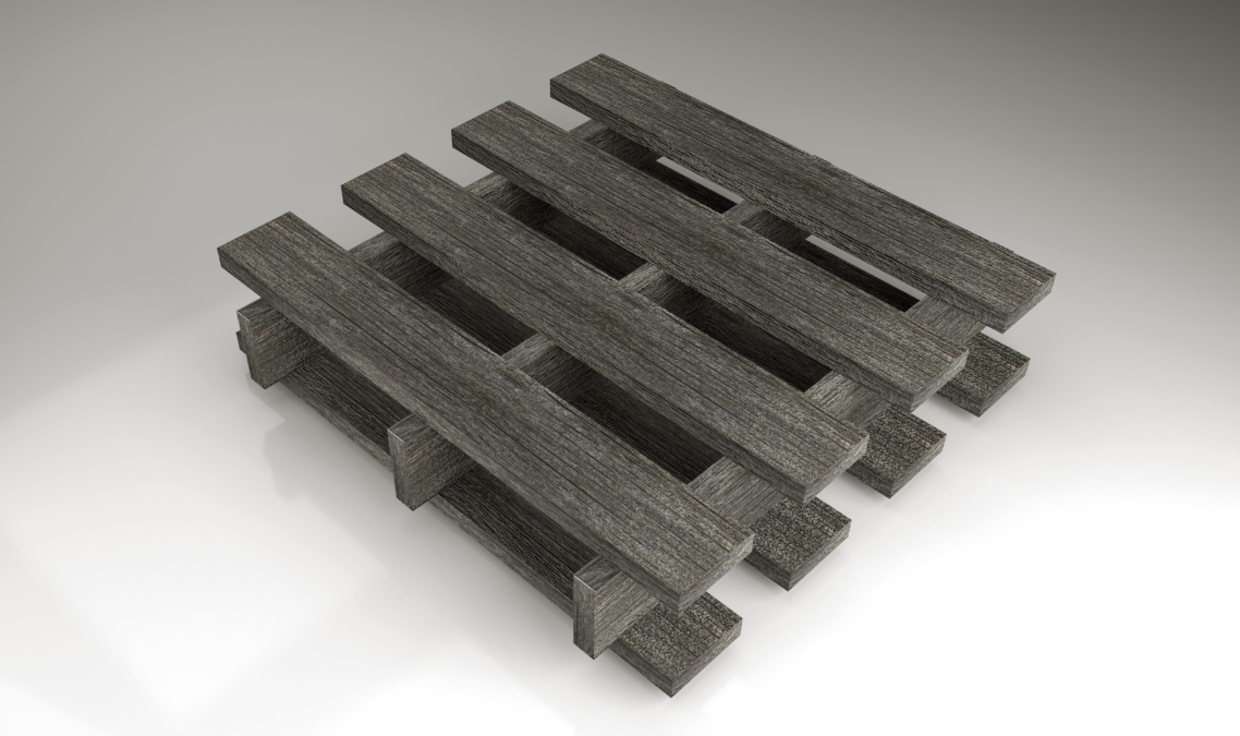 3d Wood for game