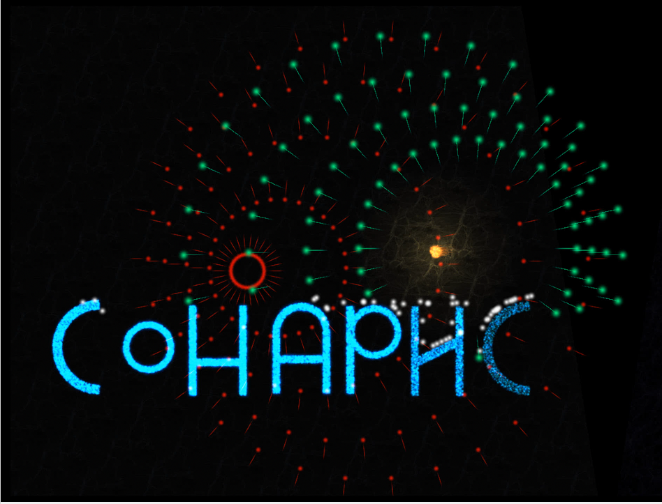 Making of SONARIS, particles only game