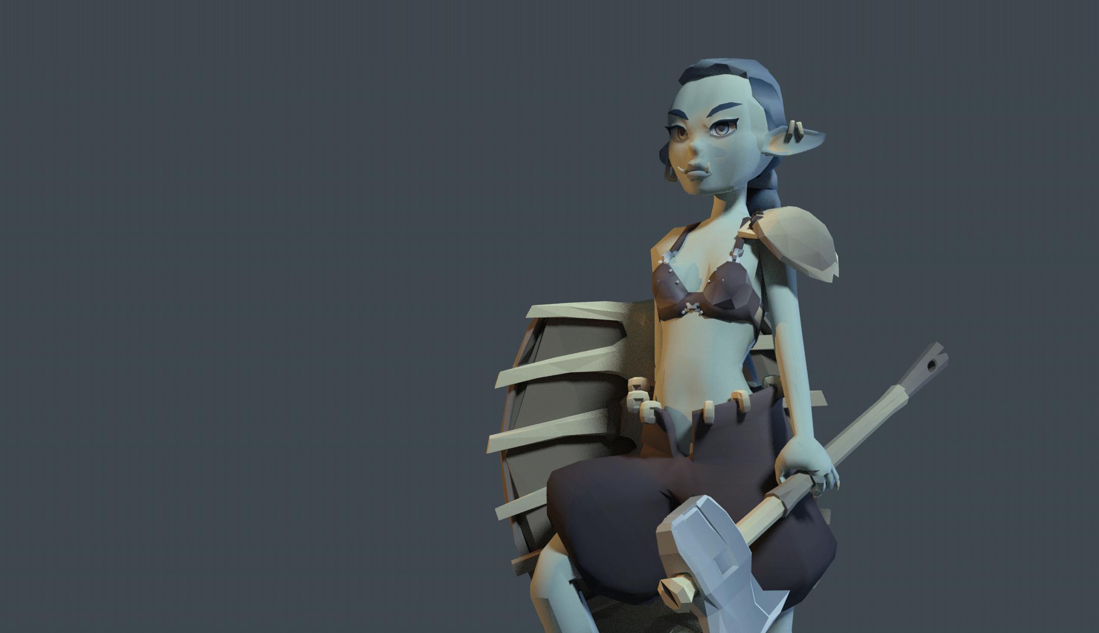 Little Goblin - Modular character project