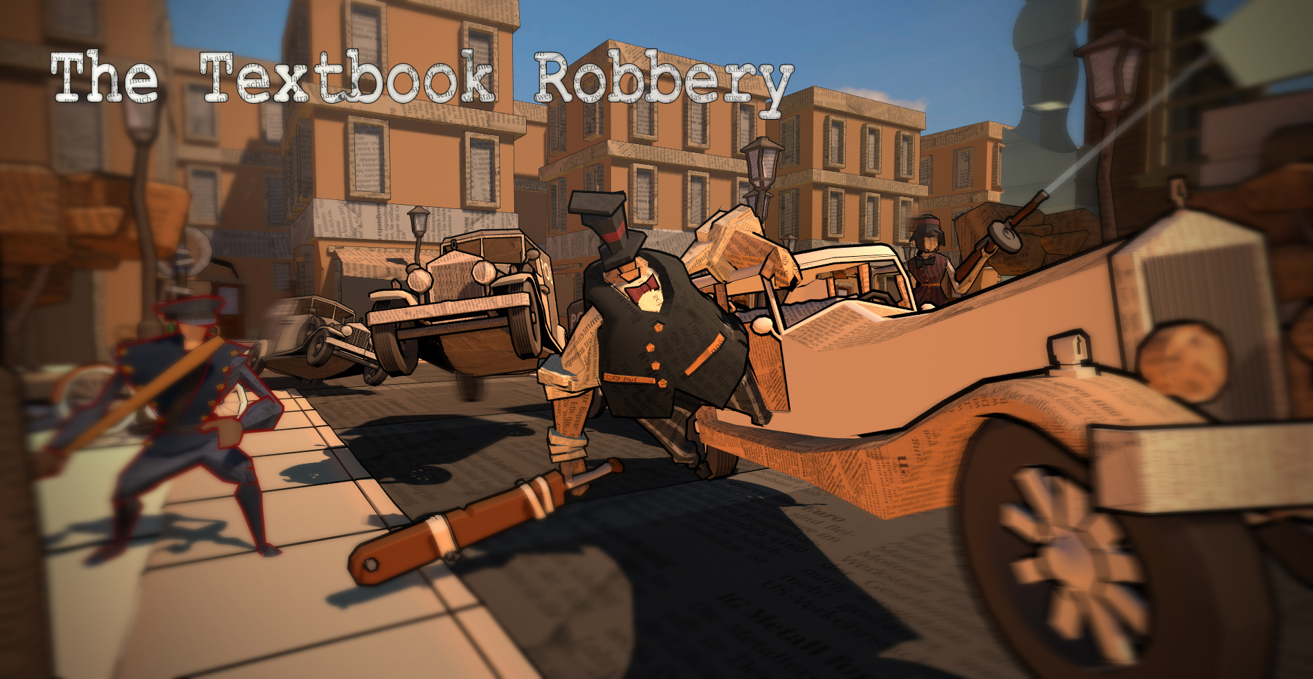 The Textbook Robbery