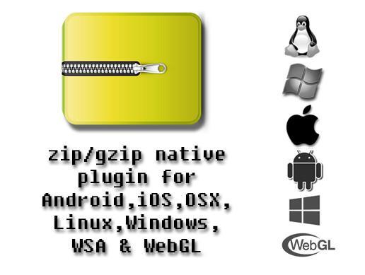 Zip-gzip multiplatform plugins.