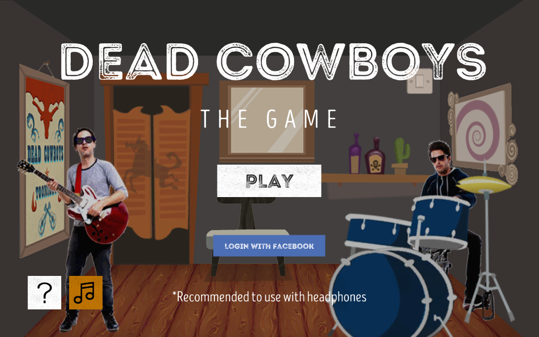 ind Dead Cowboys - The Game