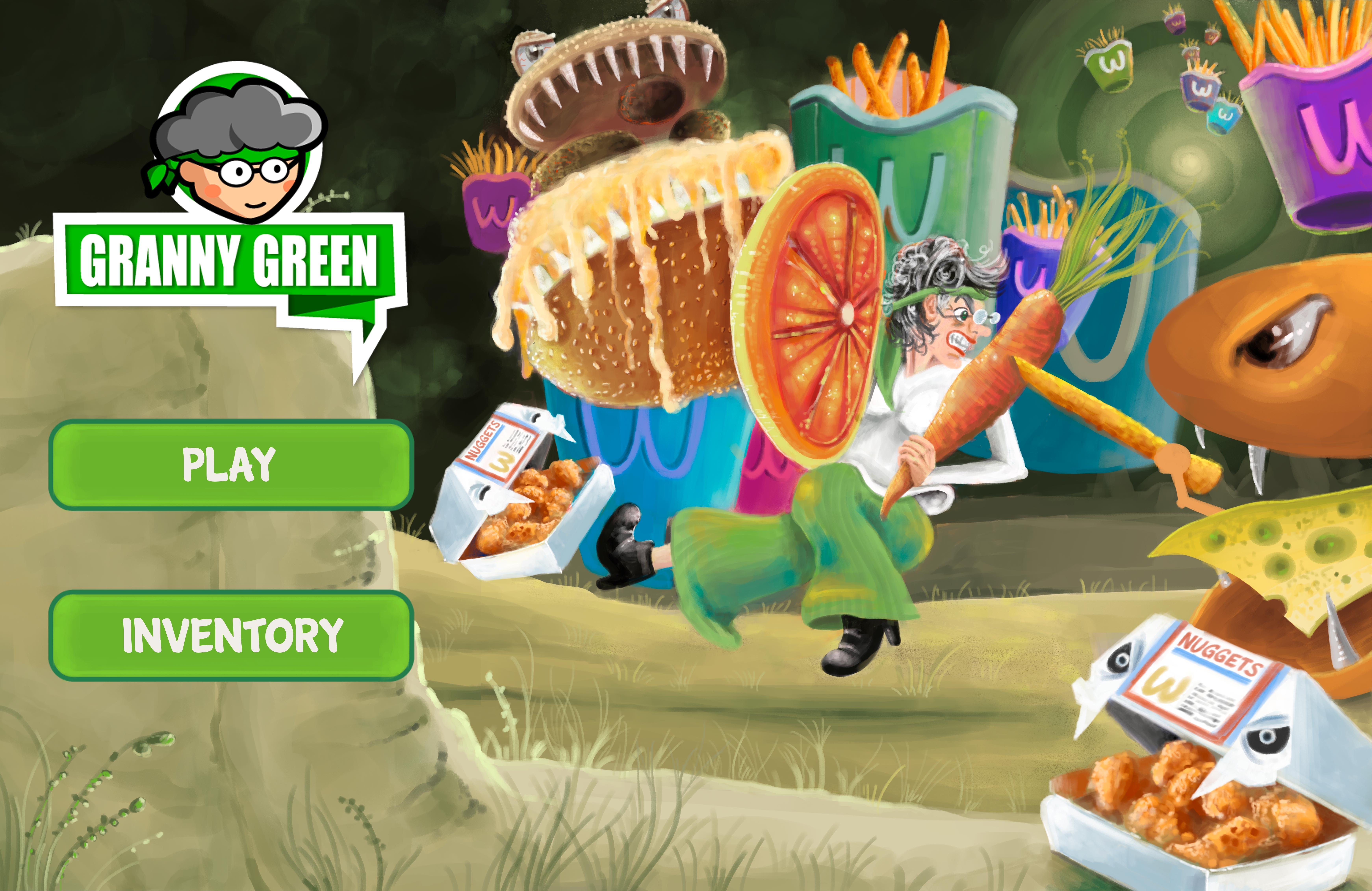 Granny Green Game