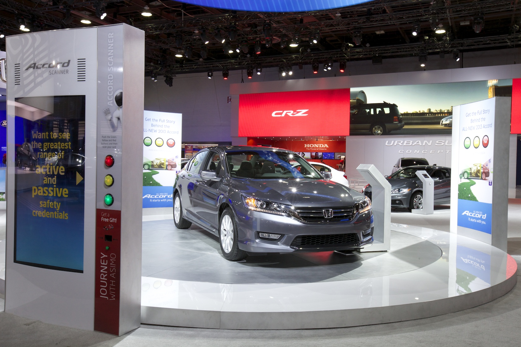 Honda Turntable Scanner
