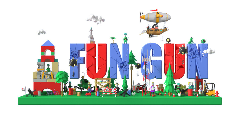 Fun Gun - funny logical shooter