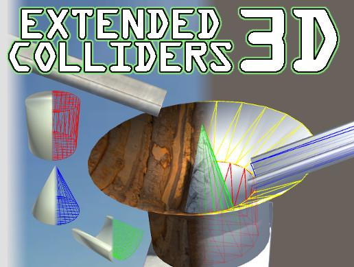 Extended Colliders 3D - Unity Asset Store