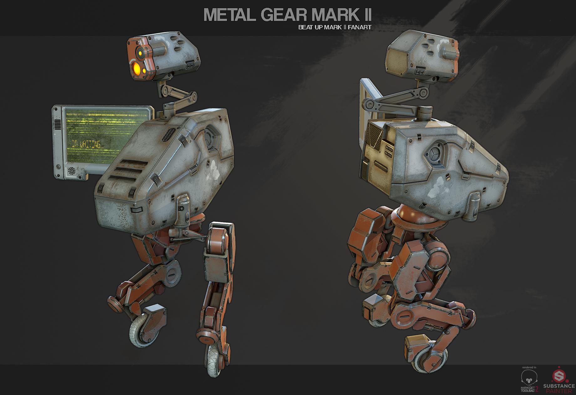 METAL GEAR MARK ll [Fanart]