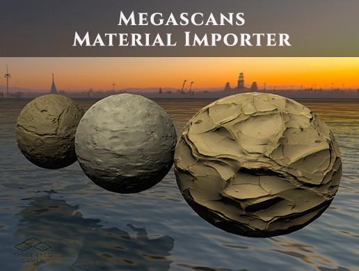 Megascans Material Importer