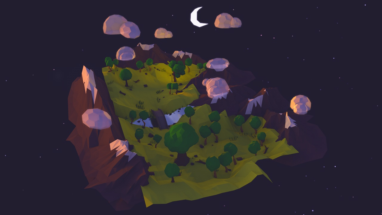 LowPoly Advergame