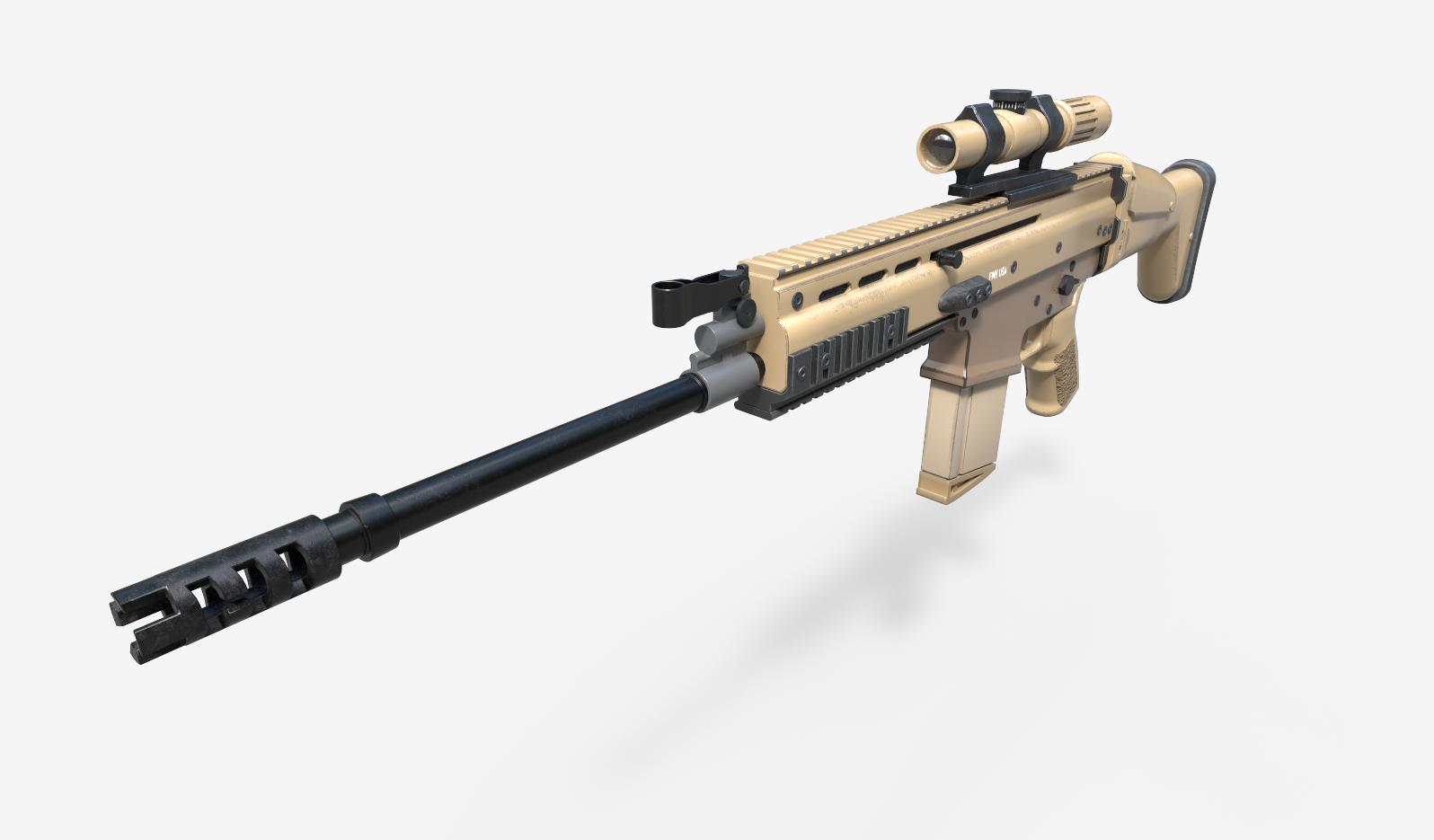 Rifle - FN Scar 17s