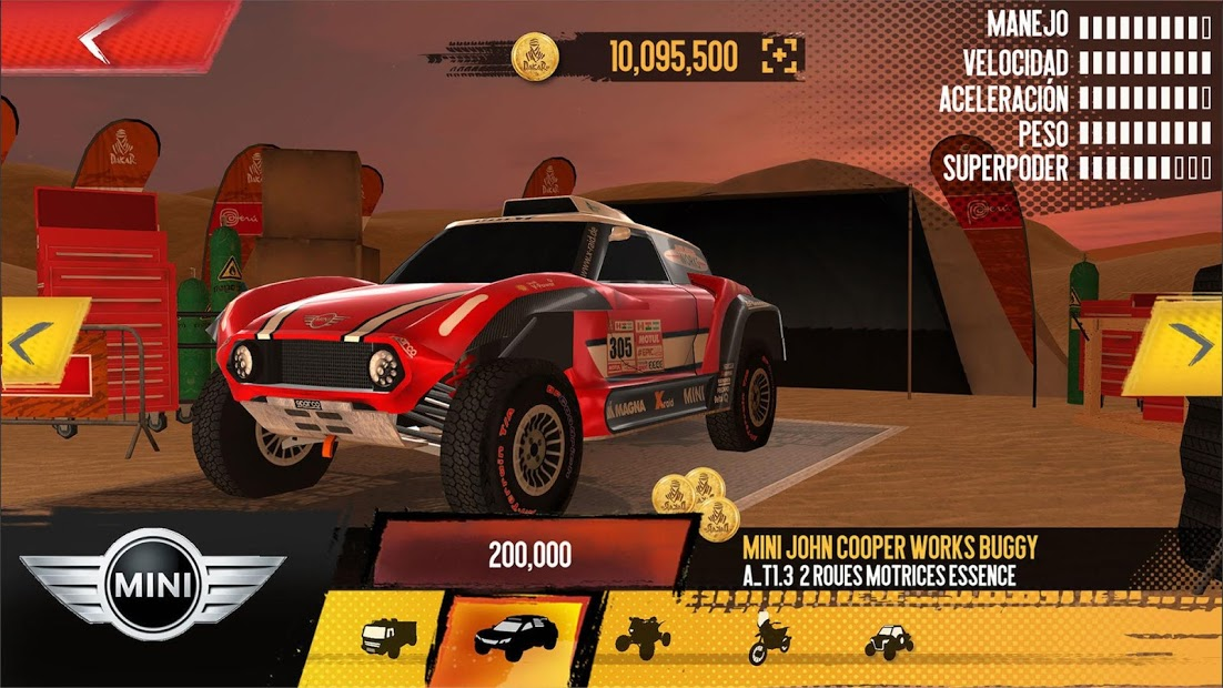 Dakar Mobile Game 2018